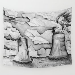 nuclear phenix Wall Tapestry