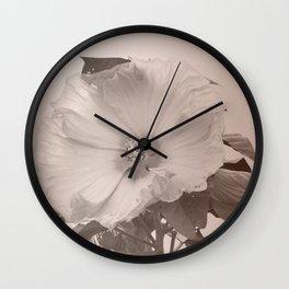 Dusty Bloom Wall Clock
