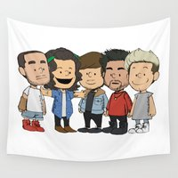 1d Wall Tapestries featuring Schulz 1D by Ashley R. Guillory