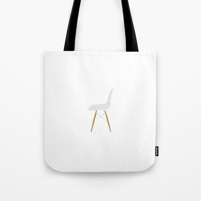 Eames DSW chair Tote Bag