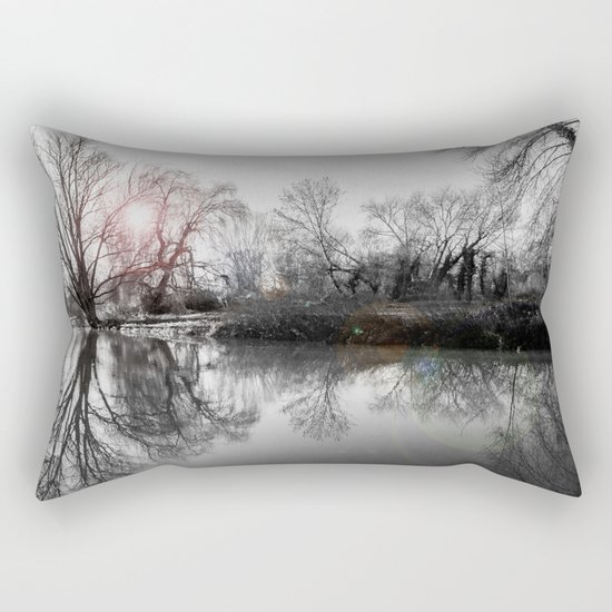 TREE-FLECTION Rectangular Pillow