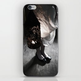Girl with Punched Tin Lantern iPhone Skin