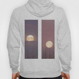 Phases of The Setting Moon Hoody