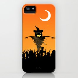 Nightmare Halloween Starry Night iPhone Case