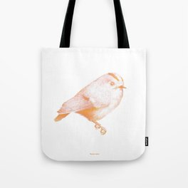 Goldcrest (Regulus regulus) - orange and yellow Tote Bag