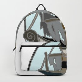 Ghost Ship Colour Backpack