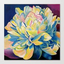 """""""Blue Floral"""" Canvas Print"""