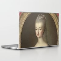 marie antoinette Laptop & iPad Skins featuring Marie Antoinette by Mary