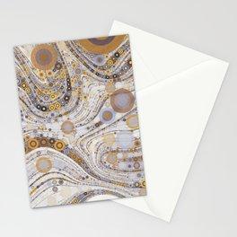 CASABLANCA a bohemian design using soft earth tones Stationery Cards
