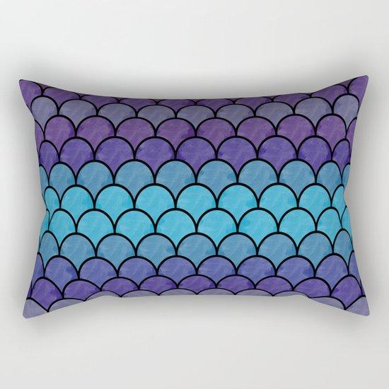Watercolor Lovely Pattern C Rectangular Pillow