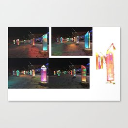Under Ground Light Therapy Canvas Print