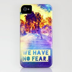 WE HAVE NO FEAR - for Iphone iPhone (4, 4s) Slim Case