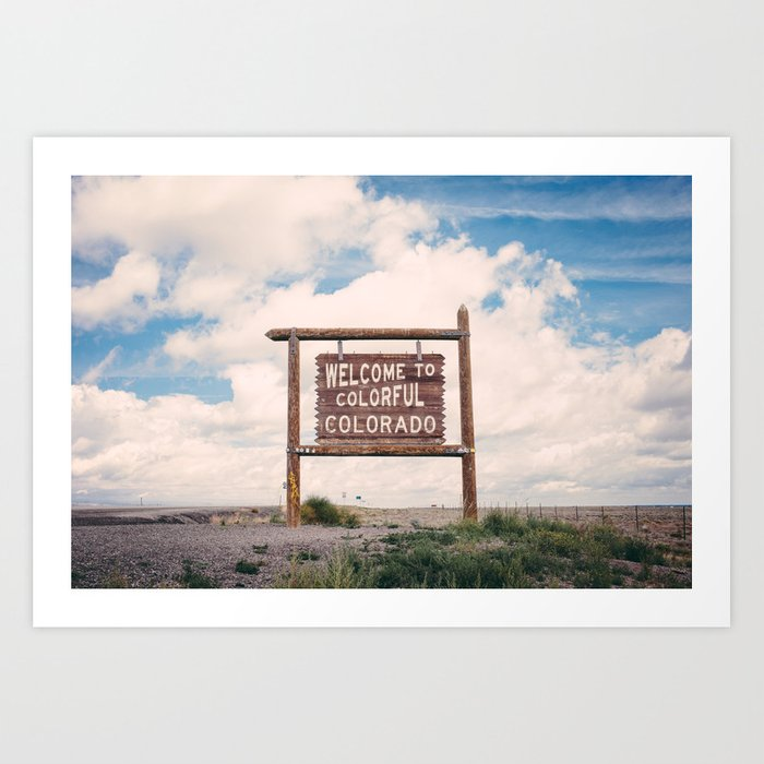 Welcome to Colorful Colorado Kunstdrucke