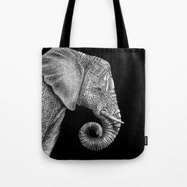 Elephant 2 Tote Bag