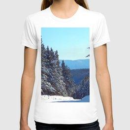 Road to Mount Albert T-shirt
