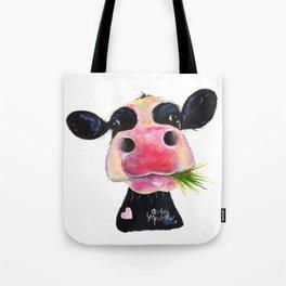 CoW PRiNT ANiMaL PRiNT ' HuRLeY BuRLeY ' BY SHiRLeY MacARTHuR Tote Bag