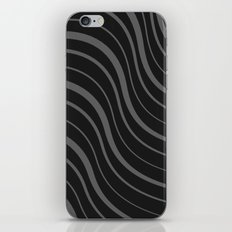 Organic Stripes #02: Monochrome version iPhone & iPod Skin