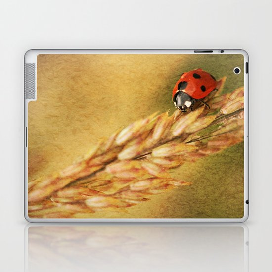 Lady on a Grass Laptop & iPad Skin