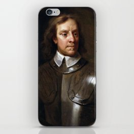 Oliver Cromwell Painting iPhone Skin