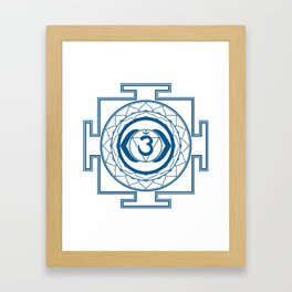 Sri Yantra Third Eye Framed Art Print