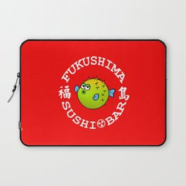 Sushi Bar (Red/White) Laptop Sleeve
