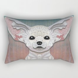 Fennec Fox Rectangular Pillow