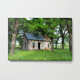 Abandon Home Poolville, Texas Metal Print