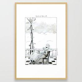 Jack and the Beanstalk Framed Art Print