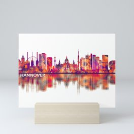 Hanover Germany Skyline Mini Art Print