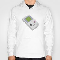 gameboy Hoodies featuring Gameboy by Mr Christer Design