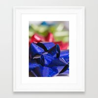 bows Framed Art Prints featuring Bows by KC Photography