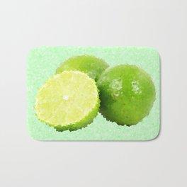 Abstract Limes Bath Mat