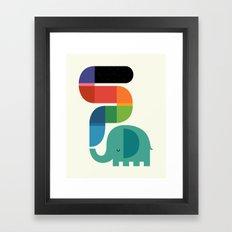 Rainbow Painter Framed Art Print
