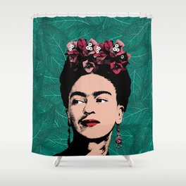 Floral Frida Shower Curtain
