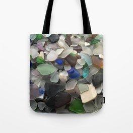 Sea Glass Assortment 1 Tote Bag