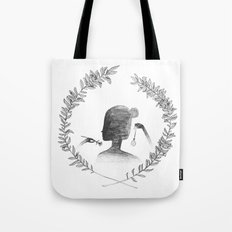 Watching the Time Tote Bag
