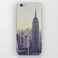 nyc iPhone & iPod Skins featuring NYC by Chernobylbob