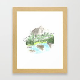 """Adventure is Out There!"" - Up, Pixar Framed Art Print"