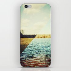 land/water iPhone & iPod Skin