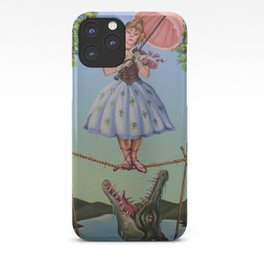 Haunted Mansion Portrait: Trapeze Girl iPhone Case