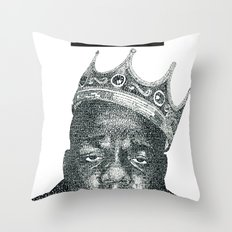 excellence is my presence Throw Pillow