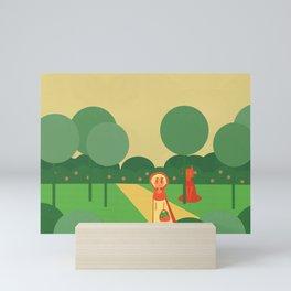 Little Red Mini Art Print