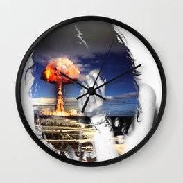 Scenic/ /Disastrous Wall Clock