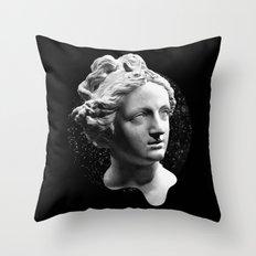 Sculpture Head Throw Pillow
