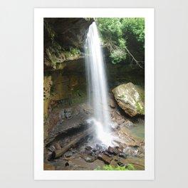 Ohiopyle State Park- Cucumber Falls Art Print