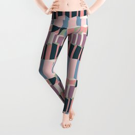 Straight Geometry City 1 Leggings