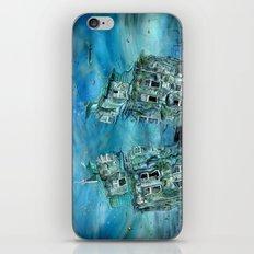 The sunken time iPhone & iPod Skin