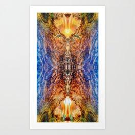 JagadAtman-SupremeSpirit  Spiritual awakening Art Print
