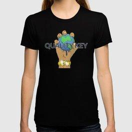 Quality Key: World at the Palm QK T-shirt
