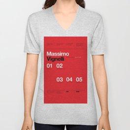 Massimo Forever 01 Unisex V-Neck